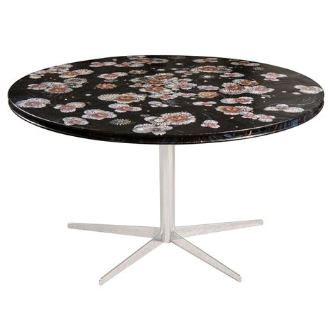 decoupage table top dining table with decoupage top at 1stdibs