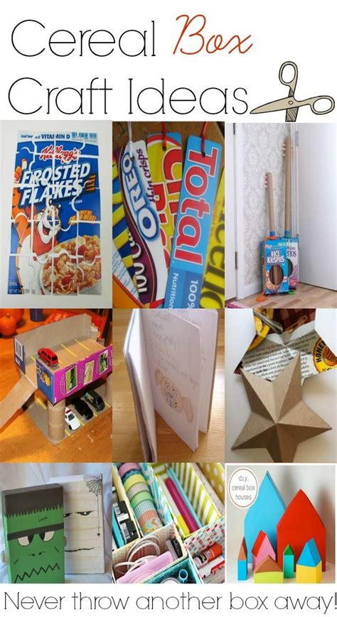 cereal box crafts for 17 best ideas about cereal box crafts on craft