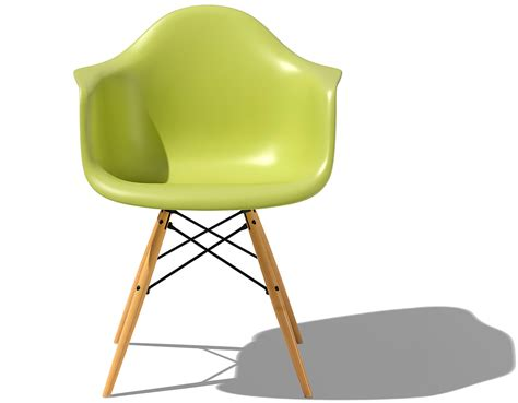 eames chairs eames 174 molded plastic armchair with dowel base