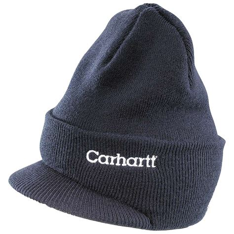 carhartt knit hat carhartt s knit hat with visor at moosejaw