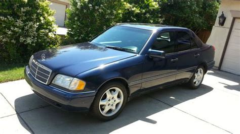1997 Mercedes C280 by Purchase Used 1997 Mercedes C280 4 Door Sedan Blue With