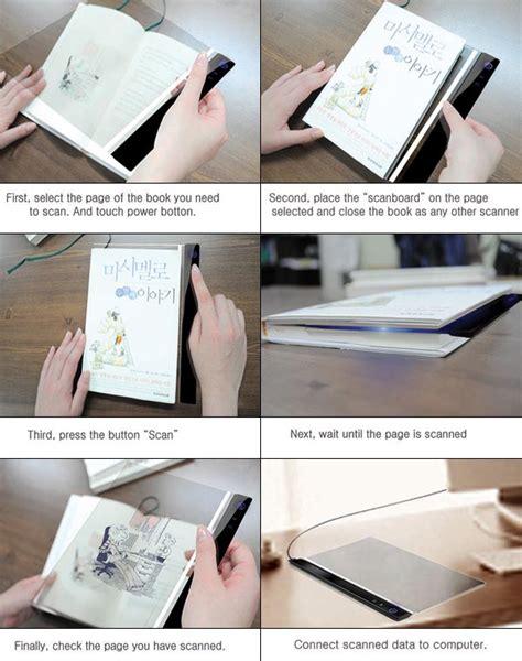 concept picture books scan board a concept scanner for books gadgetsin