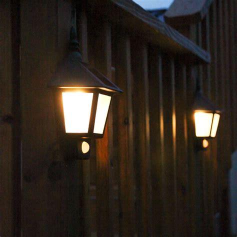 motion lights lights solar solar wall olwyn solar wall light