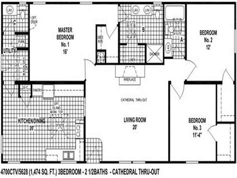floor plans for mobile homes wide clayton wide mobile homes floor plans modern