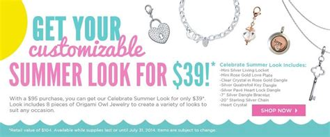 origami owl deals great deal from origami owl order yours at www karol