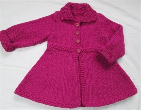 toddler sweaters to knit baby toddler sweater coat knit size 2t from a