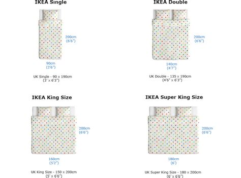 what is the size of a standard bed 2016 guide to ikea 174 mattress sizes different vs
