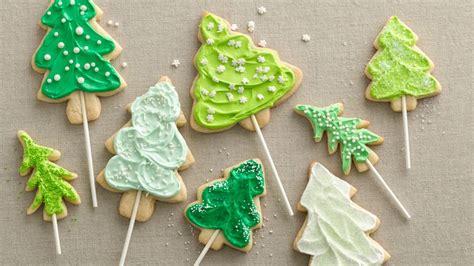 tree cookie tree cookie pops recipe from betty crocker