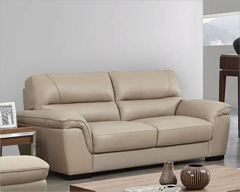 leather sofa colors modern leather sofa in beige color esf8052s