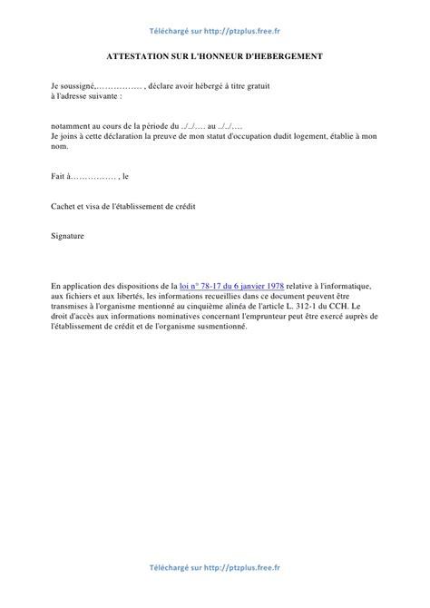 Modification Jugement Jaf by Modele Lettre Hebergement