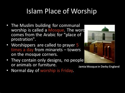 what are muslim prayer called three major monotheistic world religions ppt