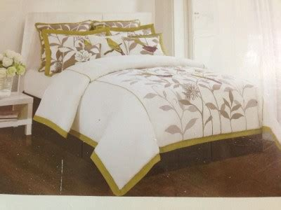 hillcrest comforter sets domain hillcrest paradise embroidery bird floral king 6 pc