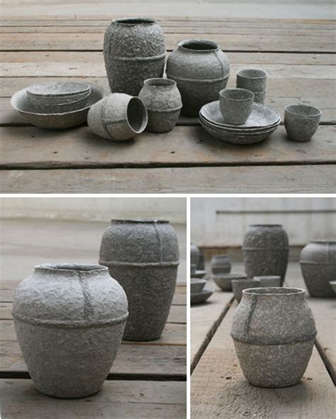 Pulp Projects Recycled Paper Pots Planks Shelves More