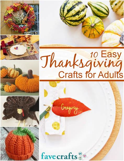 thanksgiving crafts for easy 10 easy thanksgiving crafts for adults free ebook