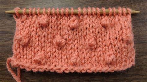 popcorn stitch knit how to knit the popcorn stitch new stitch a day