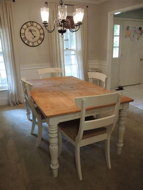 chalk paint visalia ca finders keepers sold butcher block table w 4 chairs 75