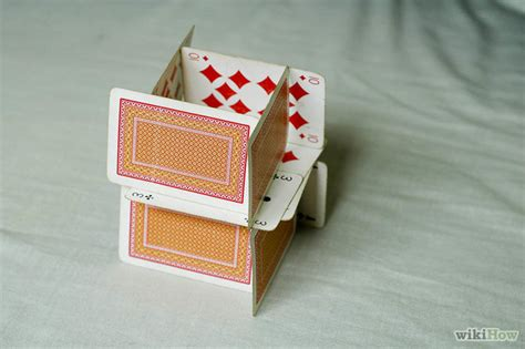 how to make a house of cards for beginners how to build a house of cards 8 easy steps wikihow