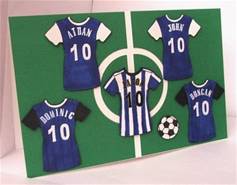 football birthday cards to make football soccer birthday cards by riverisis cards and