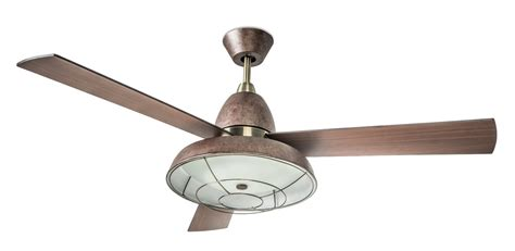 vintage ceiling fan with light retro ceiling fan with caged light