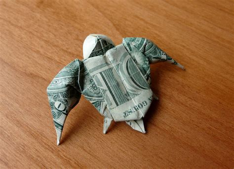 turtle dollar origami dollar bill origami sea turtle by craigfoldsfives on