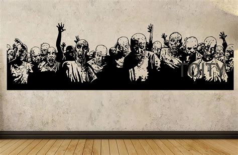 Zombie Wall Mural zombie wall decals reviews online shopping zombie wall