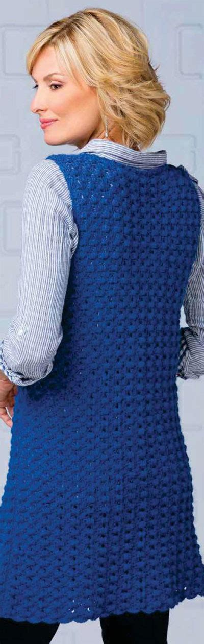 sleeveless jacket knitting pattern s sleeveless jacket crochet pattern free knit