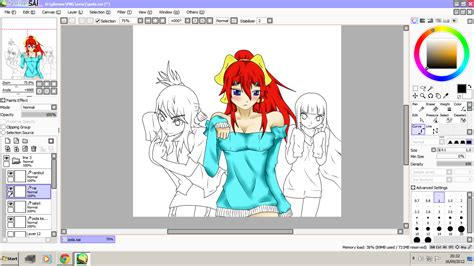 paint tool sai gratis paint tool sai free version all in here