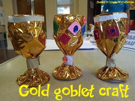 renaissance crafts for gold goblet craft wrap metallic wrapping paper