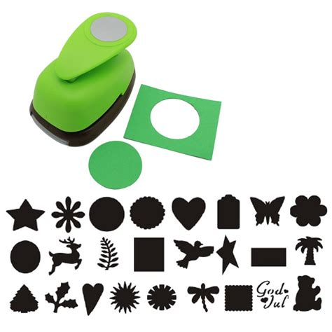 paper punches for crafts 2 quot inch paper lever craft punch tool scrapbooking cards