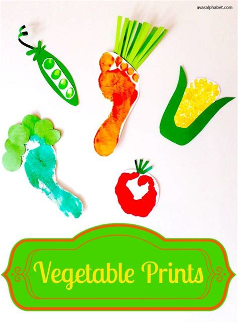 vegetable crafts for best 20 harvest crafts ideas on