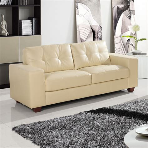 ivory leather sofa strada ivory leather sofa collection