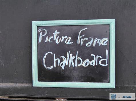 diy chalkboard message board picture frame chalkboard diy shabby chic message board