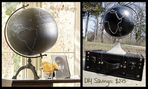 chalkboard globe diy how to make a diy chalkboard globe the hyper house