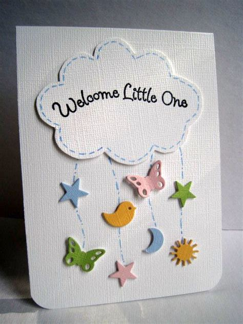 new baby cards to make home made card idea scrapbooking