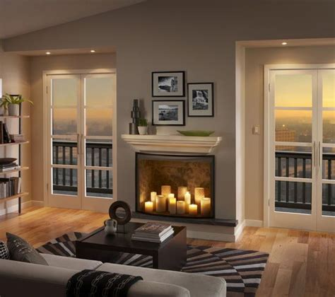 fireplace candles 78 best ideas about candle fireplace on