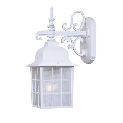 exterior lighting fixtures for home acclaim lighting collection 1 light textured white