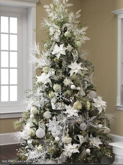 all white tree decorations 33 exciting silver and white tree decorations