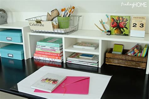 desk accessories for home office easy diy built in desk tutorial finding home farms