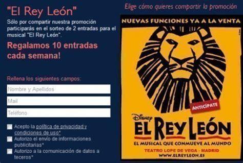 entradas cine leon sorteo gratis de entradas para el rey le 243 n de air europa