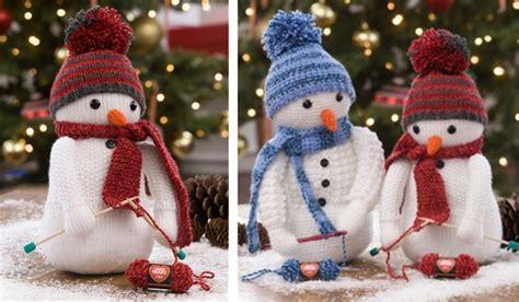 free knitting patterns snowman adorable knitting snowman free knitting pattern