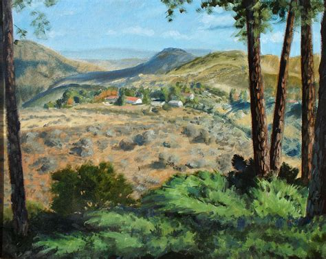 paint with a twist thousand oaks thousand oaks view painting by brett pigon