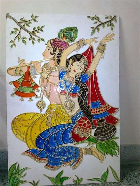 painting crafts for orchids arts and craft gallery in palakkad meenakari painting