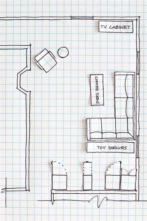 how to draw a floor plan of a house how to draw a floor plan a beautiful mess