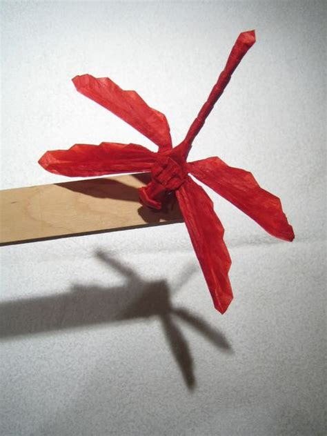 origami dragonfly dragonfly 2