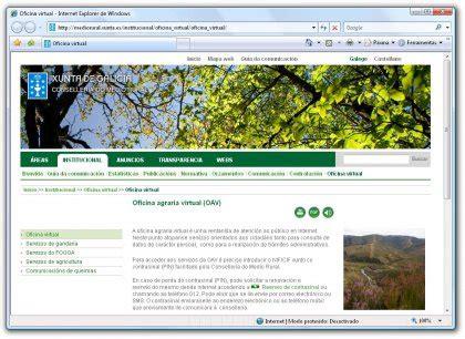 oficina virtual agraria novas 2011 sindicato labrego galego