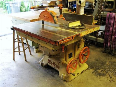 antique woodworking machinery on my list of wanted machines wadkin pk sliding