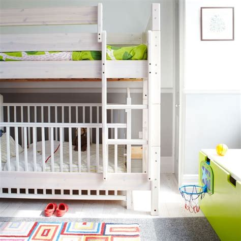 cot bunk bed bunk bed with cot panda s house