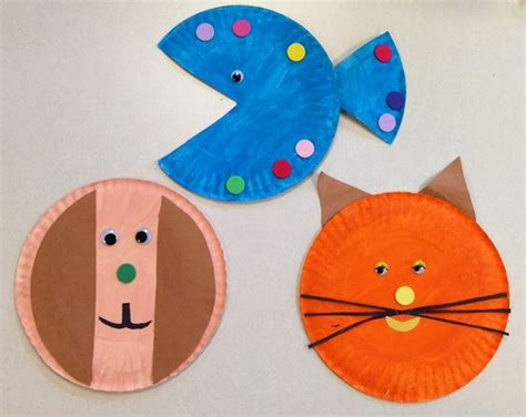 pet craft projects pets pet theme and paper plate crafts on