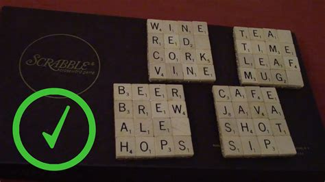 make scrabble how to make scrabble tile coasters 14 steps with pictures