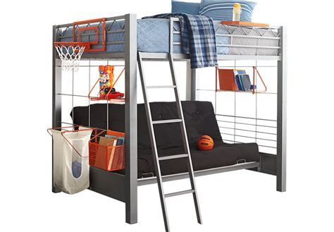 to bunk bed build a bunk gray 4 pc futon loft bed bunk loft
